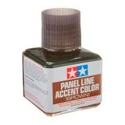 Panel Line Acccent Color - Marrom - Tamiya 87132