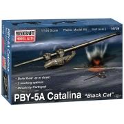 "PBY-5A Catalina ""Black Cat"" - 1/144 - Minicraft 14736"