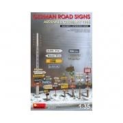 Placas de sinalização de estradas alemãs WWII - 1/35 - MiniArt 35609