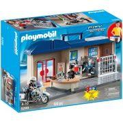 Playmobil City Action - Maleta Estação de Comando da Polícia - 5299