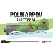 Polikarpov I-16 Type 24 - 1/48 - Academy 12314