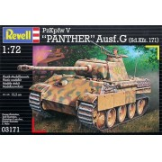 PzKpfw V PANTHER Ausf.G (Sd.Kfz. 171) - 1/72 - Revell 03171
