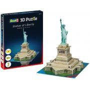 Quebra-cabeça 3D (3D Puzzle) Estátua da Liberdade - Revell 00114