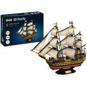 Quebra-cabeça 3D (3D Puzzle) HMS Victory - Revell 00171