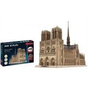 Quebra-cabeça 3D (3D Puzzle) Notre-Dame de Paris - Revell 00190