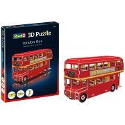 Quebra-cabeça 3D (3D Puzzle) Ônibus de Londres - Revell 00113