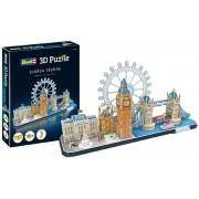 Quebra-cabeça 3D (3D Puzzle) Paisagens de Londres - Revell 00140