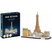 Quebra-cabeça 3D (3D Puzzle) Paisagens de Paris - Revell 00141