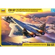 Russian fifth-generation fighter SU-57 - 1/72 - Zvezda 7319