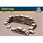 Sand bags - Sacos de areia - 1/35 - Italeri 406