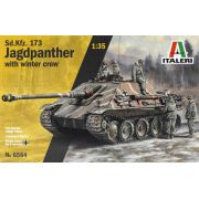 Sd.Kfz. 173 Jagdpanther with winter crew - 1/35 - Italeri 6564