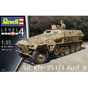 Sd. Kfz. 251/1 Ausf. A - 1-35 - Revell 03295