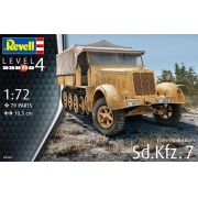 Sd.Kfz. 7 (Late Production) - 1/72 - Revell 03263