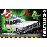 Snap Ghostbusters Ecto-1 com Slimer - 1/25 - Polar Lights POL958