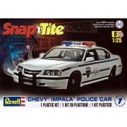 SnapTite Chevy Impala Police Car - 1/25 - Revell 85-1928