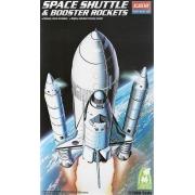 Space Shuttle & Booster Rocket - 1/288 - Academy 12707