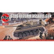 Stug III 75 mm Assault Gun - 1/76 - Airfix A01306V
