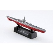 Submarino alemão DKM U-Boat Type IXC - 1/700 - Easy Model 37320
