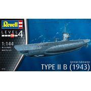 Submarino alemão Type II B (1943) - 1/144 - Revell 05155