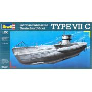 Submarino Alemão Type VII C - 1/350 - Revell 05093