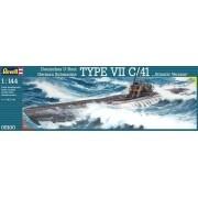 Submarino alemão Type VII C/41 - 1/144 - 05100