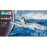 Submarino alemão Type XXIII - 1/144 - Revell 05140