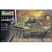T-34/76 Modelo 1940 - 1/76 - Revell 03294