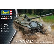 T-55A/AM with KMT-6/EMT-5 - 1/72 - Revell 03328