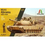 Tanque M1A1 Abrams com tripulação - 1/35 - Italeri 6571