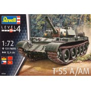 Tanque T-55 A/AM - 1/72 - Revell 03304