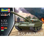 Tanque T-55AM/T-55AM2B - URSS/RDA - 1/72 - Revell 03306
