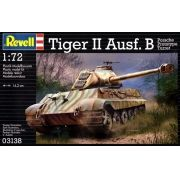 Tanque Tiger II Ausf. B (Porsche Prototype Turret) - 1/72 - Revell 03138