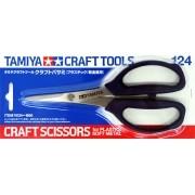 Tesoura para plásticos e metais leves - Tamiya 74124