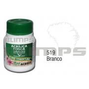 Tinta Acrílica Fosca 519 Branco (37 ml) - Acrilex 035400519