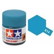 Tinta Acrílica Mini X-14 Azul Celeste (10 ml) - Tamiya 81514