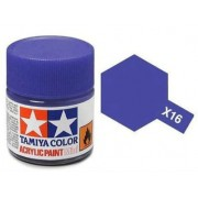Tinta Acrílica Mini X-16 Púrpura (10 ml) - Tamiya 81516
