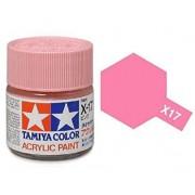 Tinta Acrílica Mini X-17 Rosa/Pink (10 ml) - Tamiya 81517