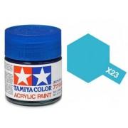 Tinta Acrílica Mini X-23 Azul Claro (10 ml) - Tamiya 81523