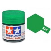 Tinta Acrílica Mini X-25 Verde Claro (10 ml) - Tamiya 81525