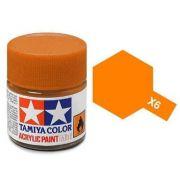 Tinta Acrílica Mini X-6 Laranja (10 ml) - Tamiya 81506