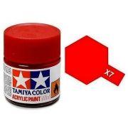 Tinta Acrílica Mini X-7 Vermelho (10 ml) - Tamiya 81507