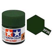 Tinta Acrílica Mini XF-26 Verde escuro (10 ml) - Tamiya 81726