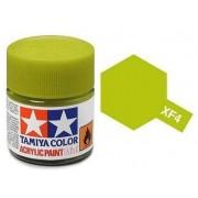 Tinta Acrílica Mini XF-4 Amarelo Verde (10 ml) - Tamiya 81704