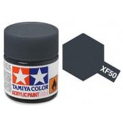 Tinta Acrílica Mini XF-50 Azul Campo (10 ml) - Tamiya 81750