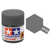 Tinta Acrílica Mini XF-53 Cinza Neutro (10 ml) - Tamiya 81753