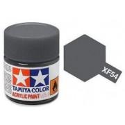 Tinta Acrílica Mini XF-54 Cinza Mar (10 ml) - Tamiya 81754