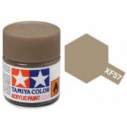 Tinta Acrílica Mini XF-57 Buff/Castanho (10 ml) - Tamiya 81757