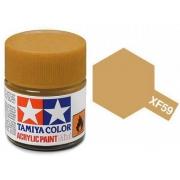 Tinta Acrílica Mini XF-59 Areia (10 ml) - Tamiya 81759