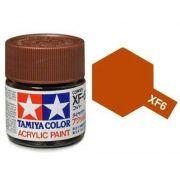 Tinta Acrílica Mini XF-6 Cobre (10 ml) - Tamiya 81706