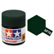 Tinta Acrílica Mini XF-70 Verde Escuro 2 (IJN) (10 ml) - Tamiya 81770